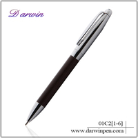 2015 Deluxe Leather Fountain Pens for Cooperate Gift