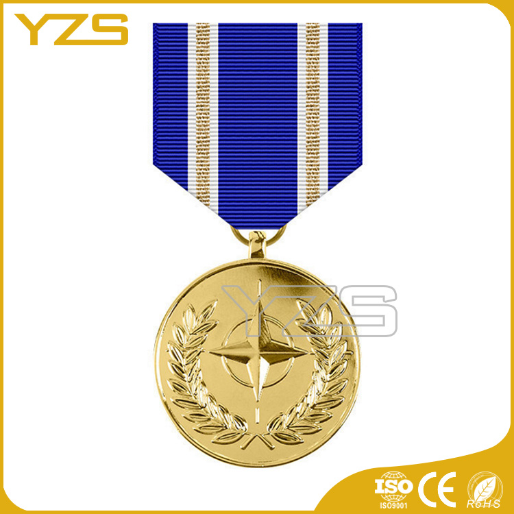 custom metal NATO Training Mission Iraq Medal