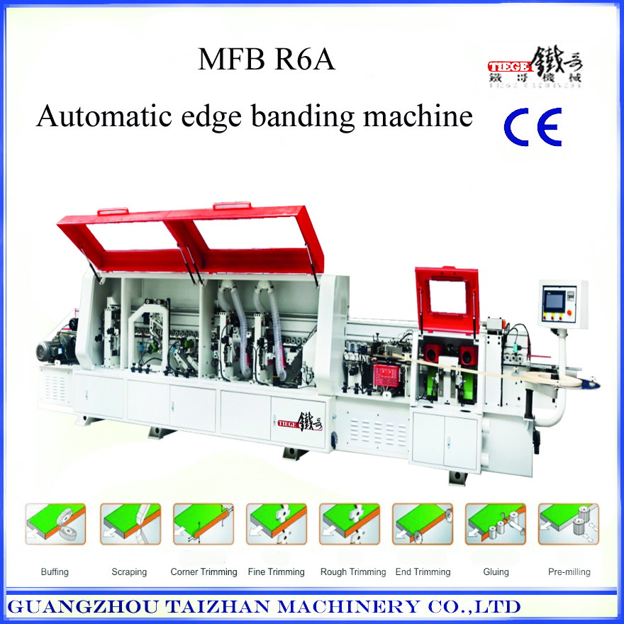 Woodworking abs edge banding machine