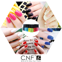 Choose 1 Colors 90623 1piece lot CNF nail gel polish color soakoff UV LED LAMP