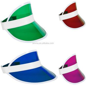 5 x Neon Sun Visor Hat Headband Unisex Cap Golf Sunvisor Stag Poker Party  Lot SC1300 5915896b5bf