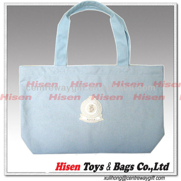 custom canvas small hand bags for women