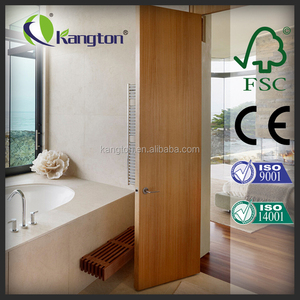 CE/ISO9001 new design cheap interior solid wooden door
