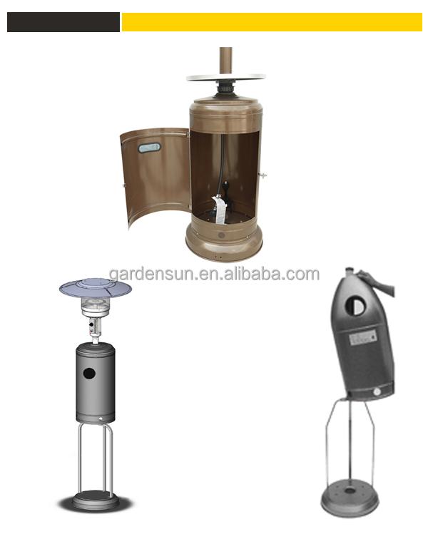 Infrared Gas Quartz Heater Patio Heaterstainless Steel Ce