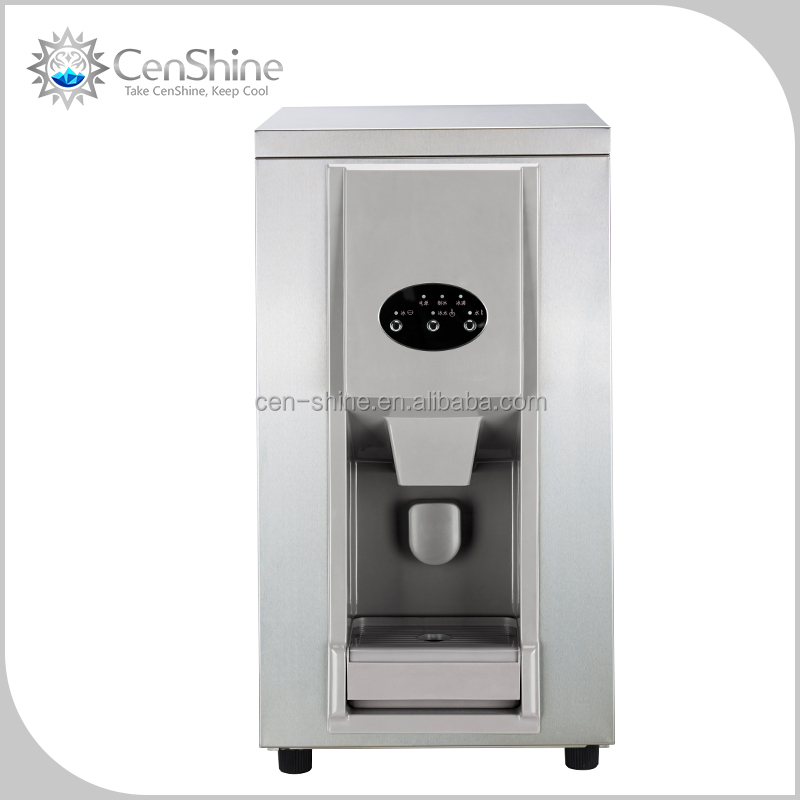 Outdoor Crescent Ice Maker