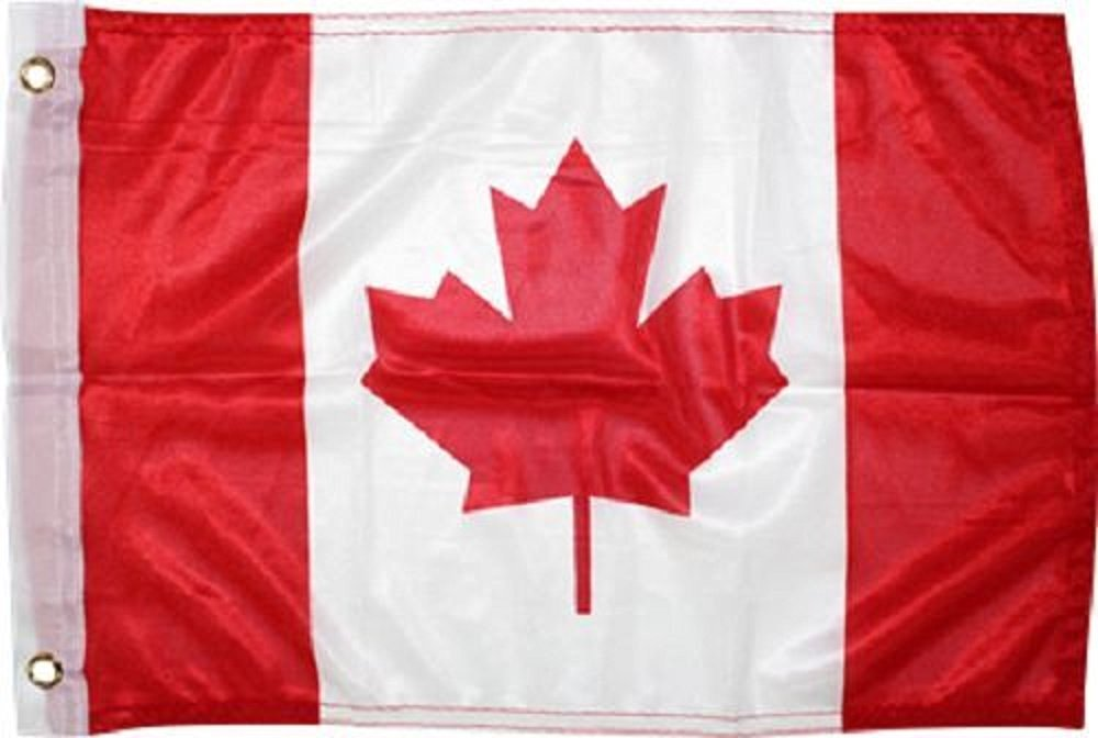 12x18 Canada Canadian Rough Tex Knitted boat Car flag 12''x18'' banner