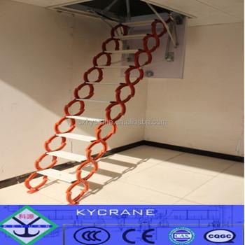 Remoto Telescópico Retráctil Ático Escaleras Plegables Escalera Loft ...