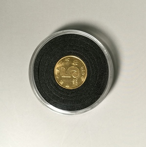 Acrylic custom transparent high quality round coin capsules for sale