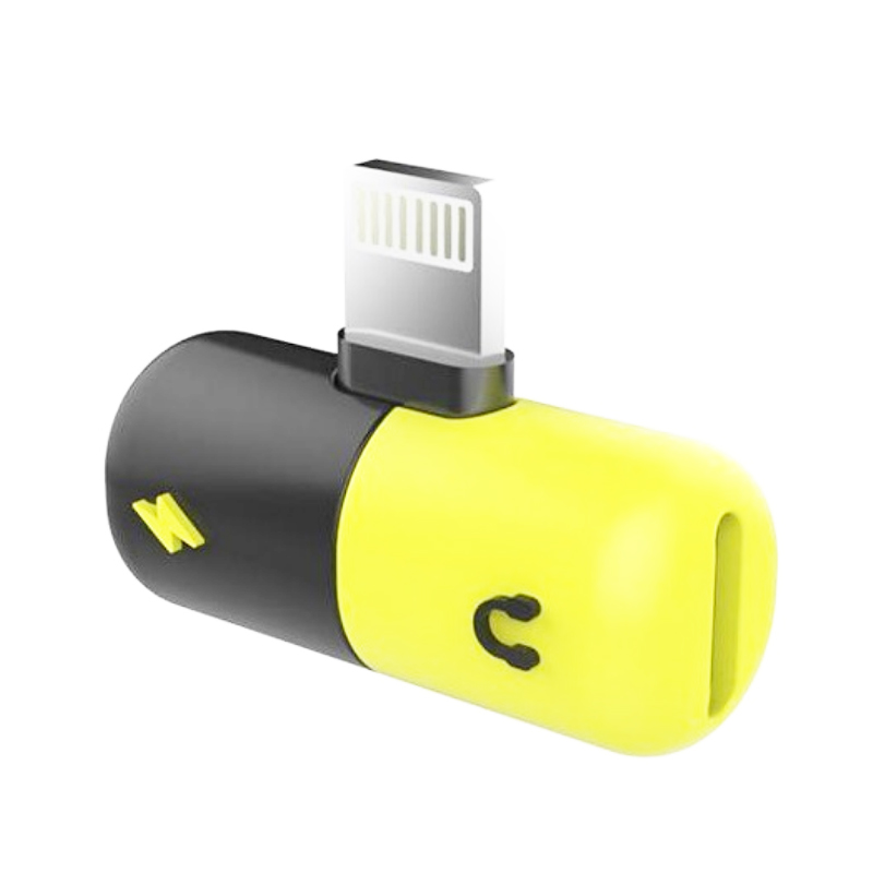 Hot selling compatibility usb audio charging <strong>adapter</strong> for iPhone X/iPhone8/8 Plus