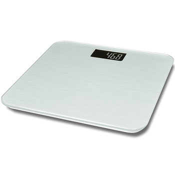 Easy Clear 8mm Hard Tempered Glass Panel Intelligence Digital Bathroom Scale  For Family Health