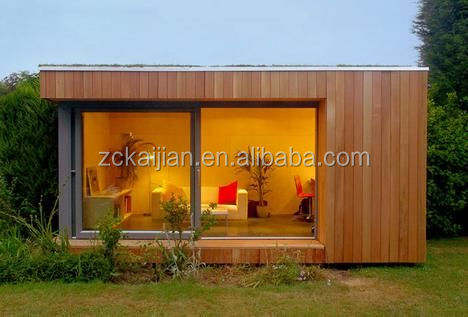 Customized prefab garden house from China