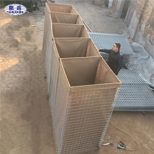 Hot Sale Welded Mesh Gabion Box Lined With Geotextile