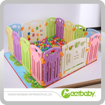 Colorful Safety Plastic Baby Playpen Baby Play Yard Children Play