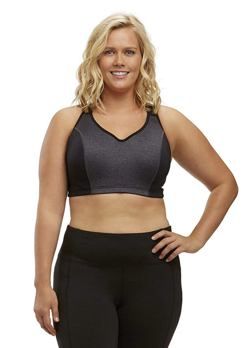 a9aadcafd9753 Get Quotations · Marika Curves Women s Gabriella-Sports-Bra-Plus-Size-1