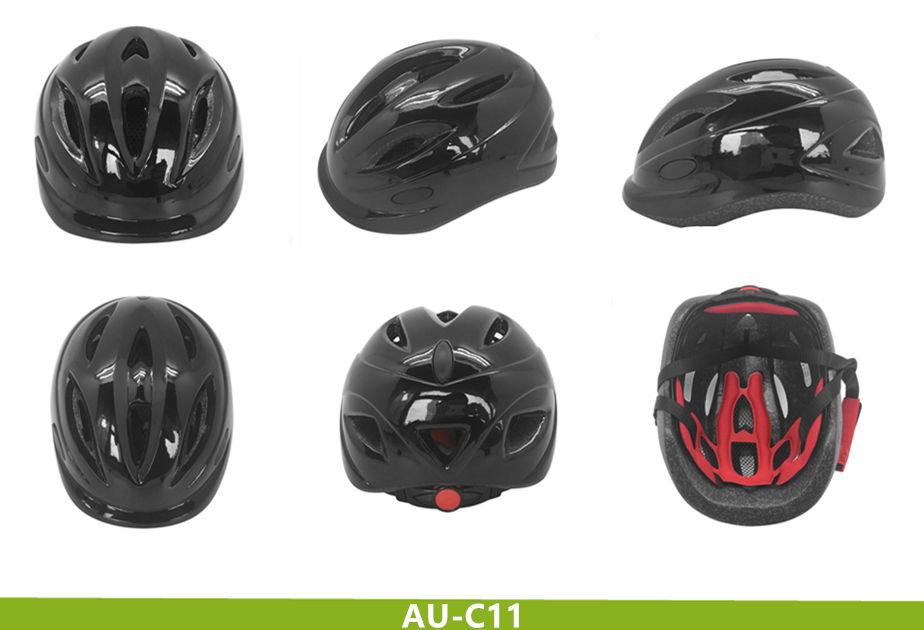 High Level PC Shell And Import EPS In-model Technology With Certificates For Kids Helmet Bike
