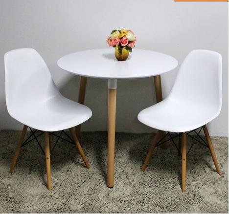design pas cher chaises eames petit verre de bois blanc chaises multi style chaise en plastique. Black Bedroom Furniture Sets. Home Design Ideas