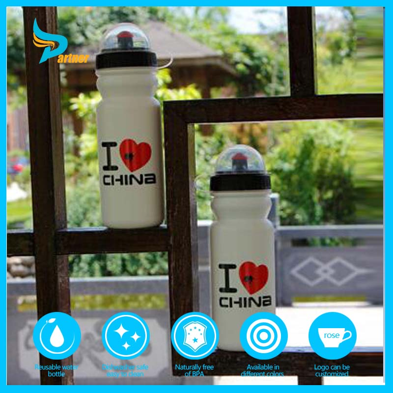 2016 600 ml Fashion Factory Price Plastic Sport Water Bottle