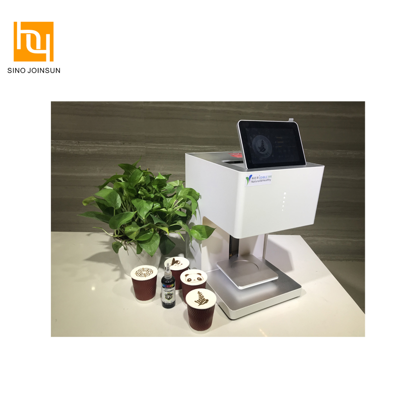 Touch screen bediening panel draagbare latte art printing machine prijs