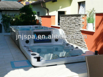 Large Outdoor Swim Spa Pool Swimming 8178
