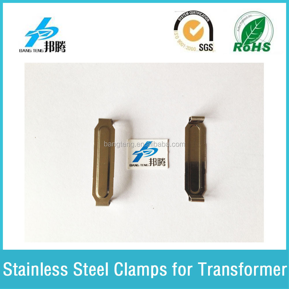 Stainless Steel Spring Clamp for Transformer 0.5 mm SUS301 Clips EFD30 Bobbin Transformer Clips