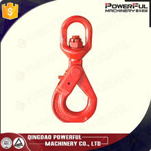 alloy steel g80 lifting chain swivel hook 10mm