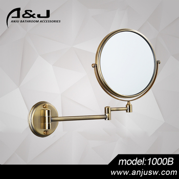 Make Up DIY Bathroom Accessory Cosmetic Wall Antique Mount Movable Framed Mirror 6 8