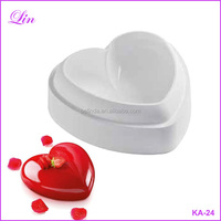 Free Shipping by DHL/FEDEX/SF Non-Stick Silicone Love Heart Shape Cake Mold Amore Baking Pastry Molds Bread Savoury Cake Pan
