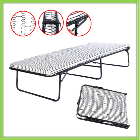 High Quality Cheap Economical Steel Folding Flat Beds For Hospital