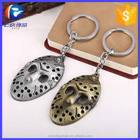 New online game Friday The 13th :the game metal jason mask keyring for youth
