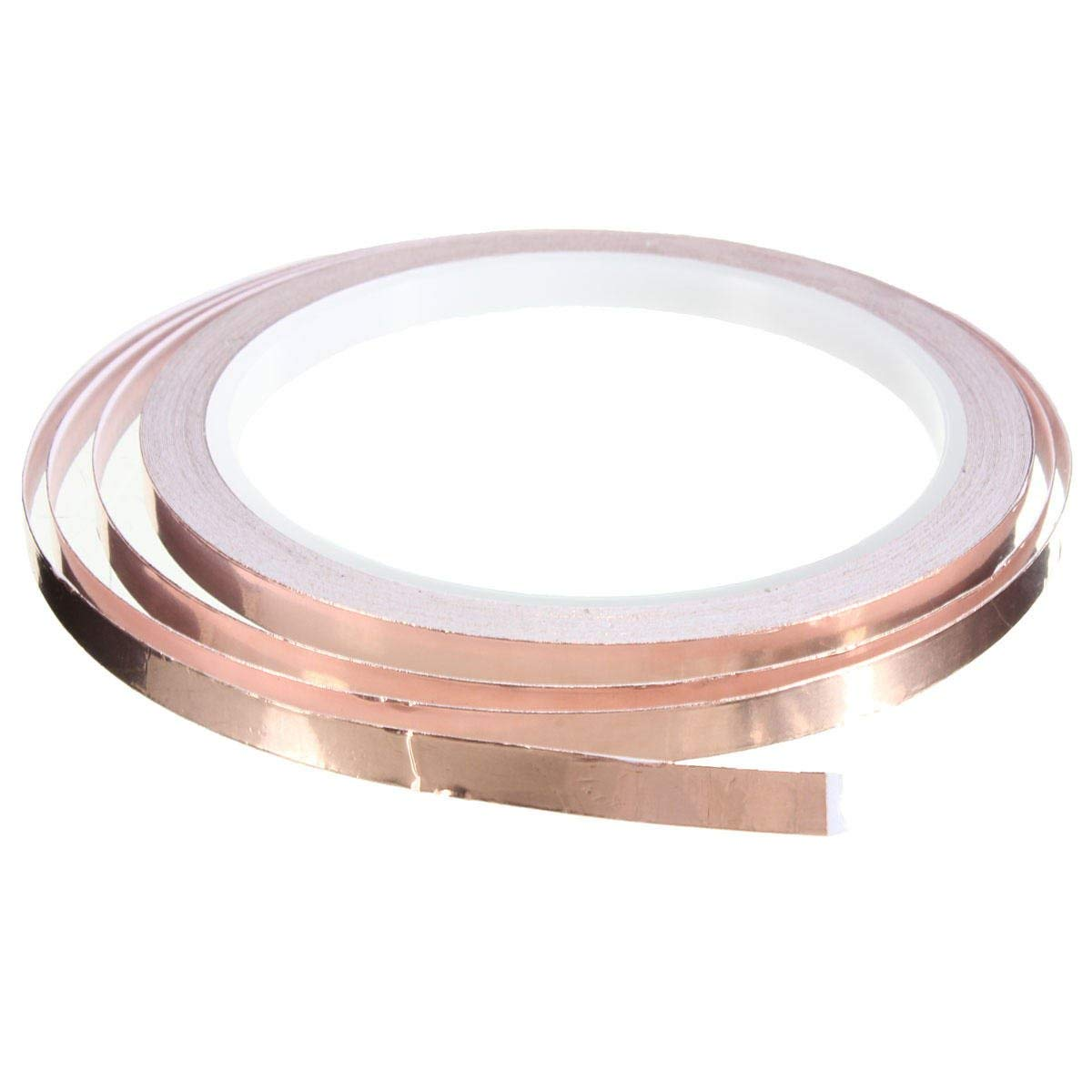 Tapes, Adhesives & Sealants Adhesive Tapes - Foil Tape Single Sided Conductive Self Adhesive Copper Heat Insulation 6mm x10m - 1x Copper foil tape,