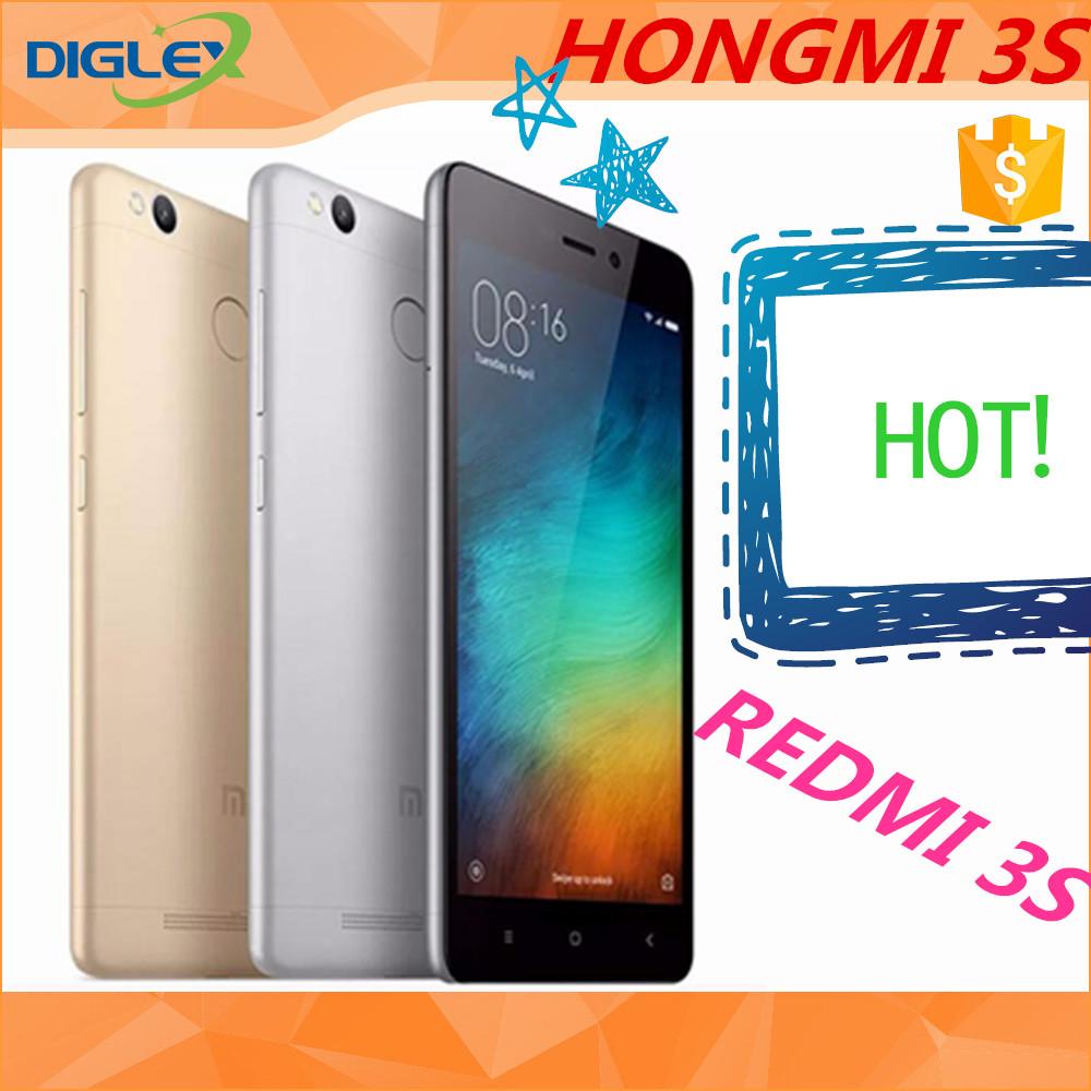 2017 Hot Sale Mi Xiaomi Redmi 3s Rom 16gb 32gb Ram 2gb Miui 75 Op Pro 3 32 Gb Global Gold 50 Inch Display Original Cell Phone Buy 3soriginal