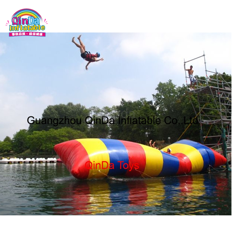 One of the best selling water park equipment lake inflatable water bungee blob for sale or rental