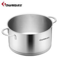 Super capsule bottom cookware stainless steel electric soup heating pot