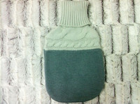 knitted wine bottle covers/knitted beer bottle cover/giant hot water bottle