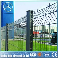 dade wire mesh double rod steel fence manufacturer