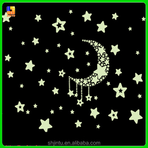 glow in the dark kawaii wall stickers window stickers for decoration