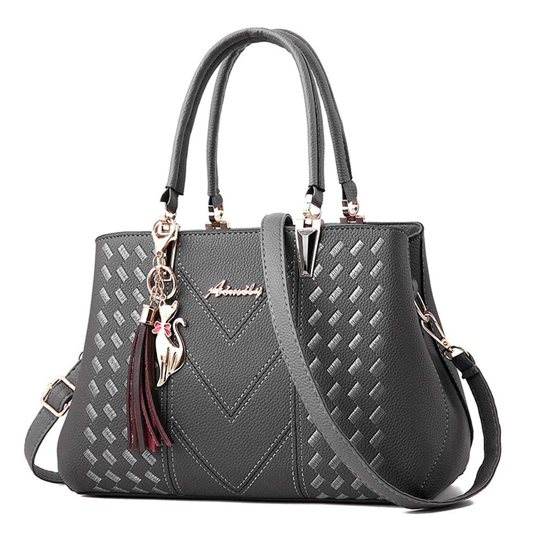 Handbags and Purses Womens Purses Ladies Handbags Fashion Shoulder Bags Satchel Top Handle Tote Girls by VAQM