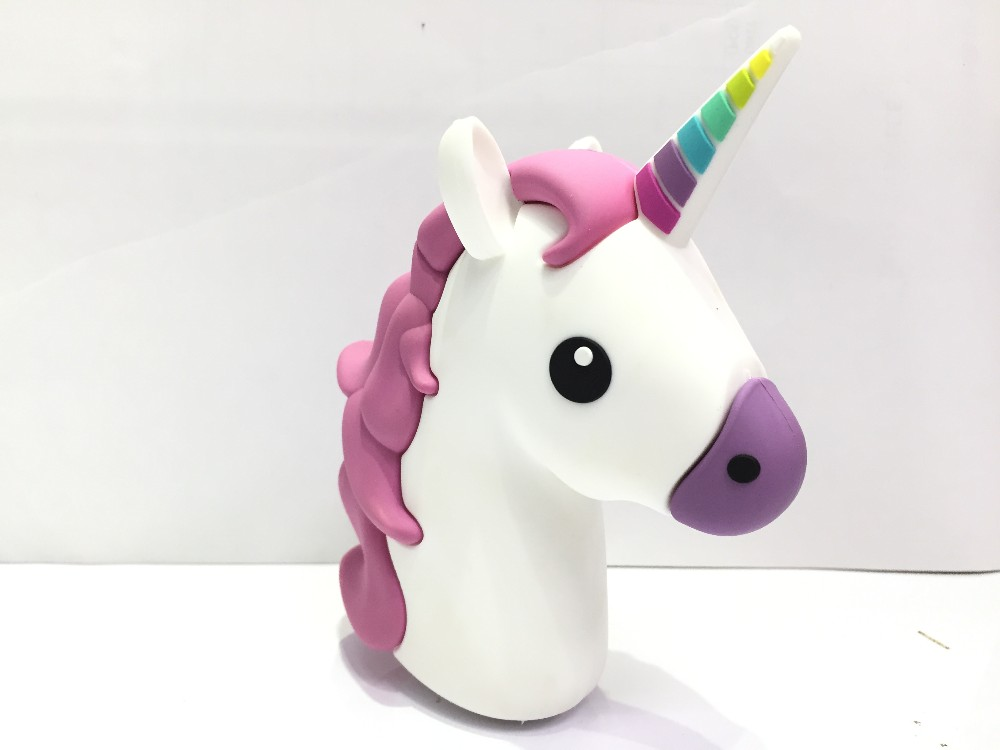 2017 Hot Sales Emoji 2600mah Emoji Power Bank Unicorn