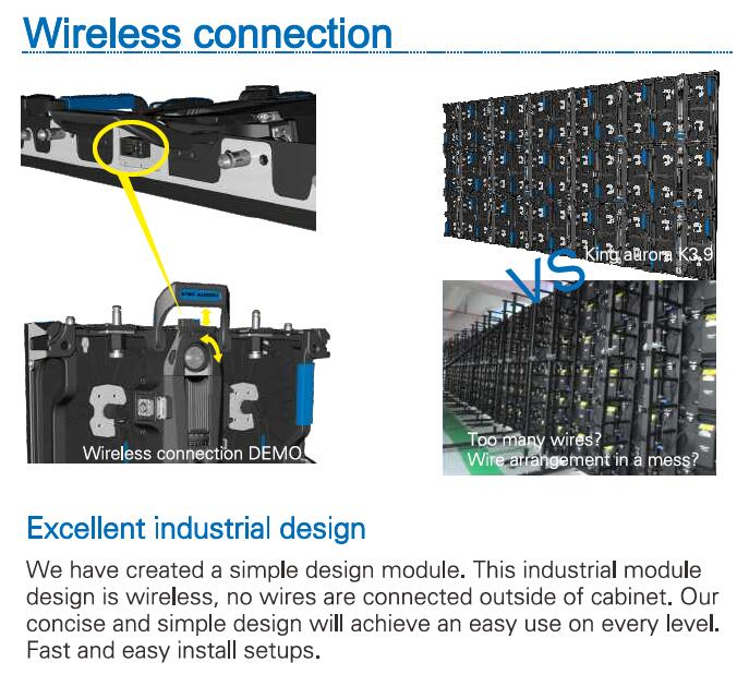 Top-rate P3.9 Led Display P4.81 Indoor Outdoor Full Color Rental Screen on