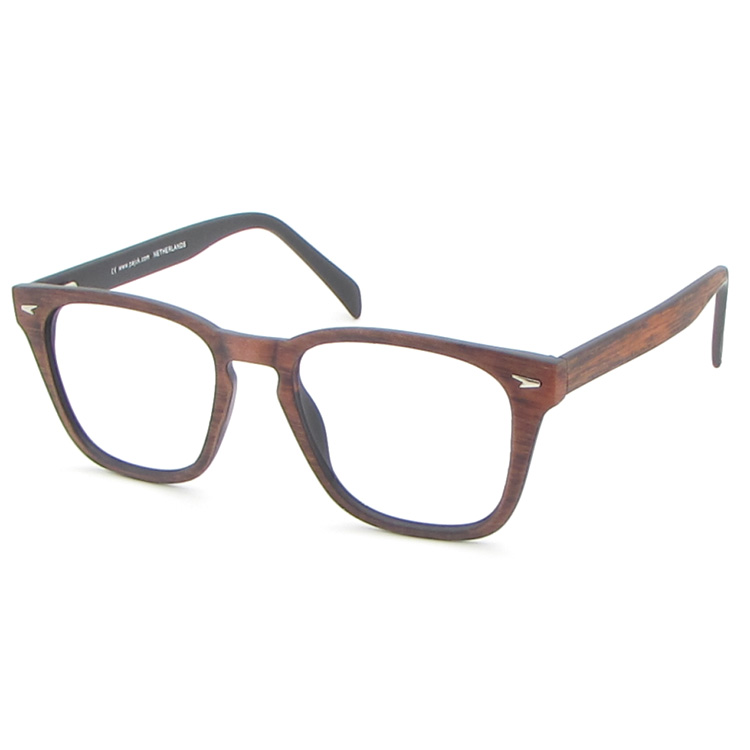 Hot selling wood patten low price plastic eye glasses frame new model eyewear frame glasses
