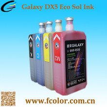 New Arrival Original Galaxy Inks Dx5 Eco Solvent Ink For Dx5
