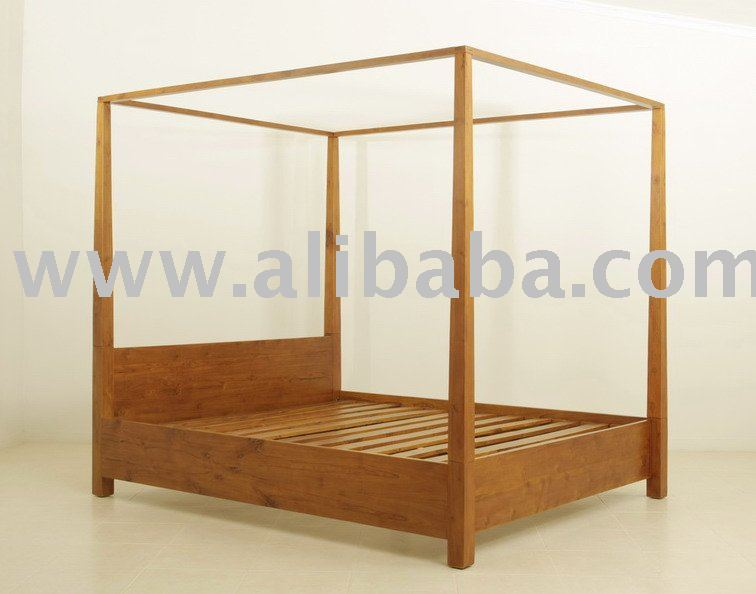 King Size 4 Poster Bed Part - 30: Amanda 4 Poster Bed King - Buy King Size Bed Product On Alibaba.com