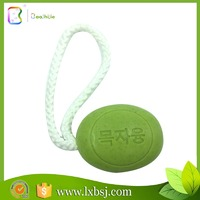 Korea green all natural plant extracts antibacterial best shea butter soap