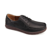 China supplier good quality man shoes PU slip-on wholesale men casual shoes