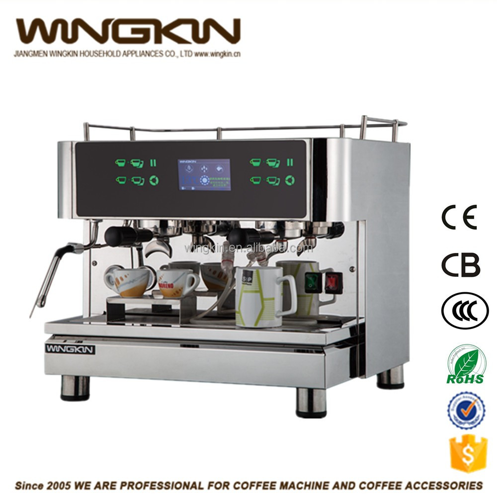Newtop China Manufacturer Half Automatic Italian Style Commercial ...