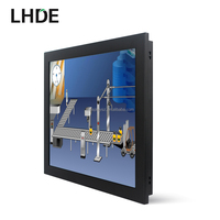 industrial 12,15,17,19,22 inch embedded open frame IP65 waterproof monitor