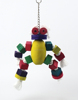 Robot Wood Parrot Toy