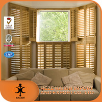 basswood /pine window Plantation Wooden Shutter