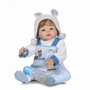 most popular design lovely boy playing international 22 inch silicon vinyl reborn baby dolls