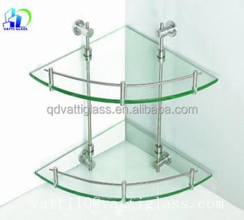 Günstige Design Wand Montiert Doppelstöckige Glas Badezimmer ...